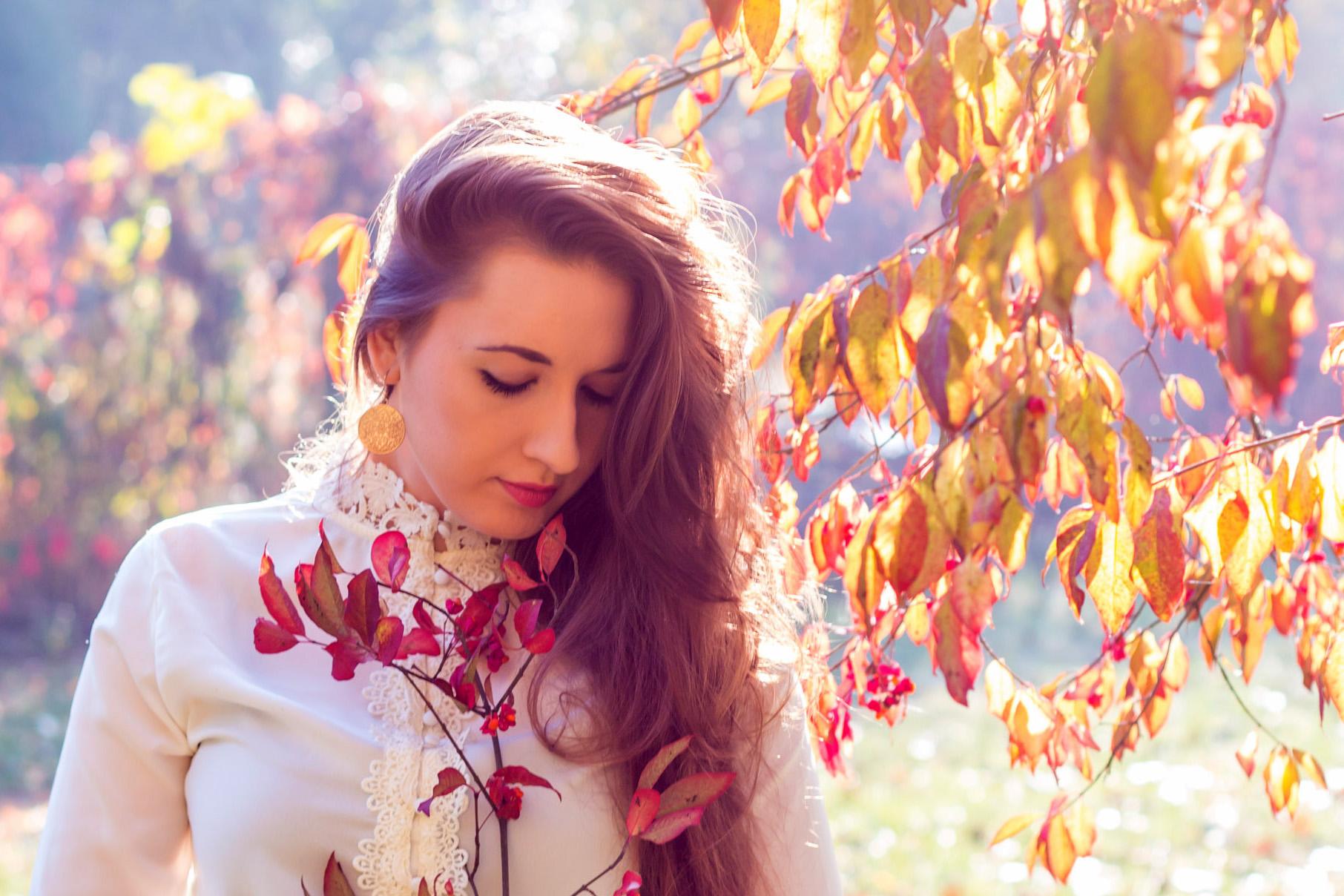 Jesienna sesja Kasi w parku